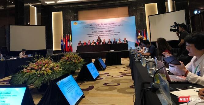 Bộ Công an: Tội phạm đang lợi dụng địa bàn Việt Nam để sản xuất và trung chuyển ma túy ảnh 1