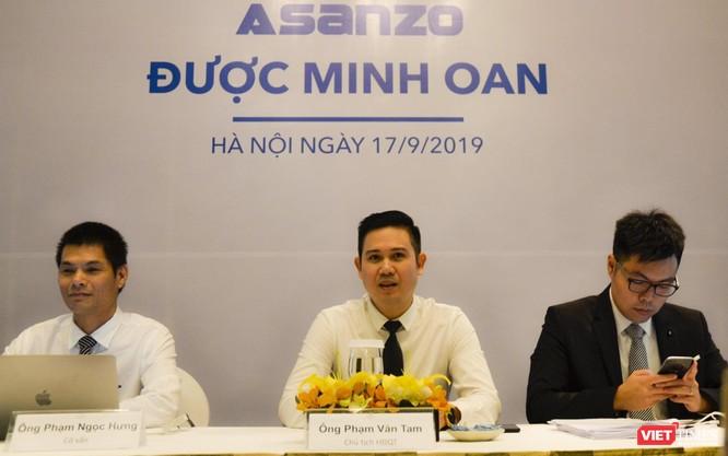 Chủ tịch Phạm Văn Tam tuyên bố: Asanzo không sai, bắt đầu sản xuất, kinh doanh bình thường trở lại từ hôm nay ảnh 1