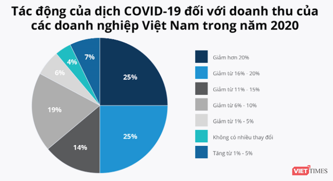"""Hơn nửa doanh nghiệp Việt """"bầm dập"""" do hiệu ứng Domino từ COVID-19 ảnh 1"""