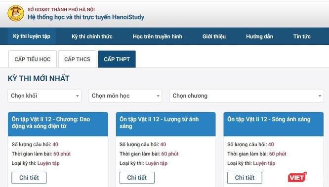 Công an vào cuộc vụ chống phá kỳ khảo sát trực tuyến của học sinh lớp 12 trên Hanoi Study ảnh 1