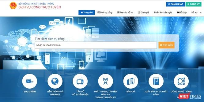 Bộ TT&TT: Tất cả các dịch vụ công đã trực tuyến mức độ 4 ảnh 1