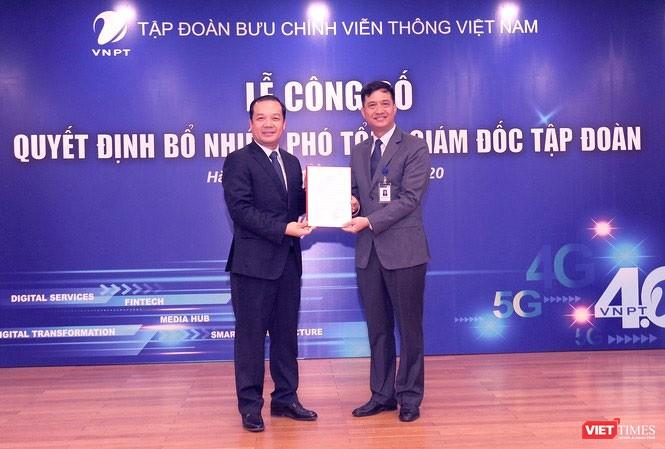 Hai Phó Tổng giám đốc vừa được bổ nhiệm của Tập đoàn VNPT là ai? ảnh 1