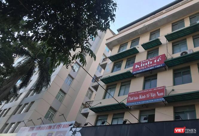 Trụ sở của Thời báo Kinh tế Việt Nam tại số 96 Hoàng Quốc Việt.