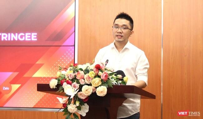 Ông Đậu Ngọc Huy - CEO Stringee.