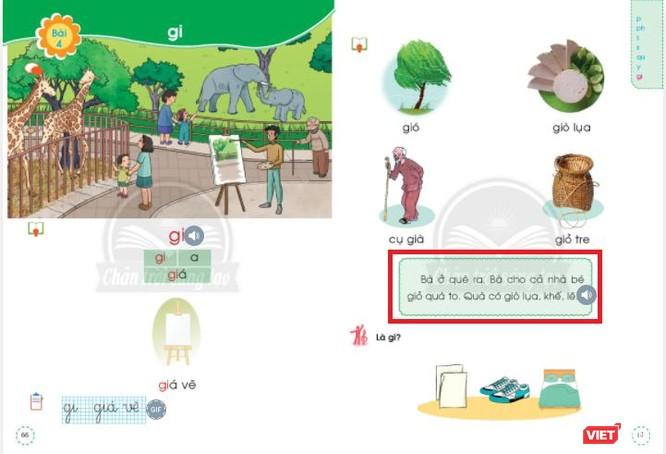 """SGK Tiếng Việt lớp 1 bộ Chân trời sáng tạo có """"sáng tạo"""" quá đà? ảnh 3"""