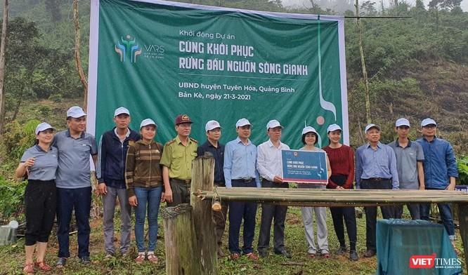 """Dự án """"Cùng phục hồi rừng đầu nguồn sông Gianh"""" đặt mục tiêu trồng 100 ha rừng trong năm 2021 ảnh 2"""