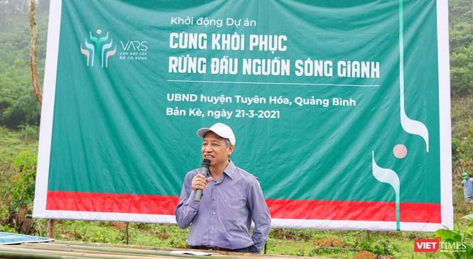 """Dự án """"Cùng phục hồi rừng đầu nguồn sông Gianh"""" đặt mục tiêu trồng 100 ha rừng trong năm 2021 ảnh 1"""