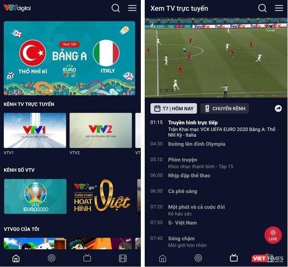 4 ứng dụng xem trực tiếp Euro 2020 trên smartphone ảnh 1