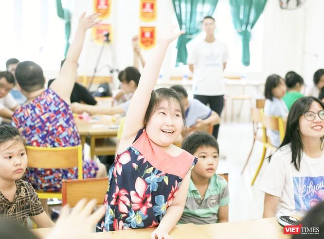 Dự án mang đến nhiều hoạt động thú vị cho các em nhỏ kém may mắn.