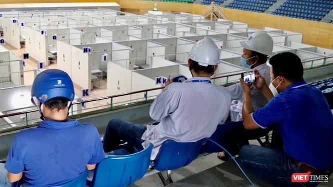 Gấp rút triển khai dịch vụ viễn thông tại bệnh viện dã chiến TP. Đà Nẵng ảnh 1