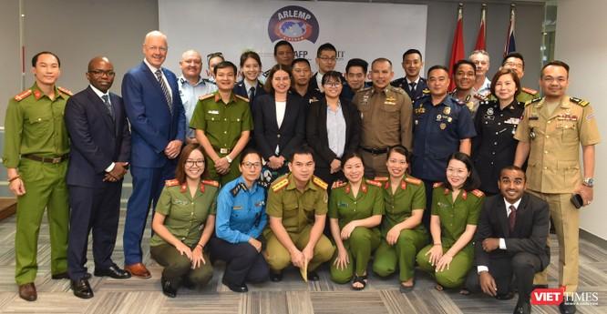 Đào tạo trực tuyến cho cảnh sát khu vực đối phó tội phạm xuyên quốc gia ảnh 2
