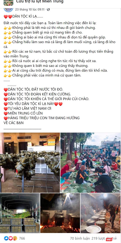 Cầu nối vô hình gắn kết hàng triệu tấm lòng Việt hướng về miền Trung ảnh 3
