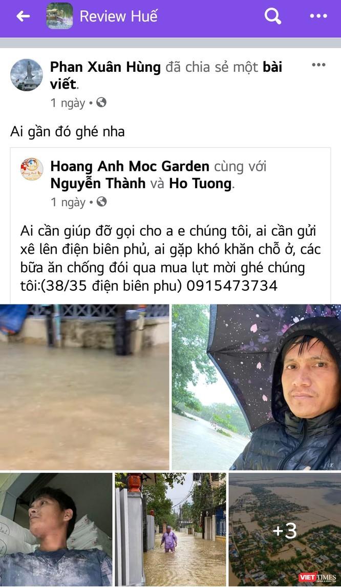 Cầu nối vô hình gắn kết hàng triệu tấm lòng Việt hướng về miền Trung ảnh 1