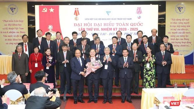 TS. Phan Xuân Dũng trở thành tân Chủ tịch Liên hiệp các Hội Khoa học và Kỹ thuật Việt Nam ảnh 1