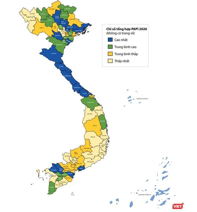 Công bố PAPI 2020: Hà Nội tiếp tục thuộc nhóm thấp nhất ảnh 1