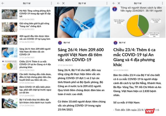 Bộ Y tế gửi khuyến cáo phòng dịch COVID-19 trong dịp lễ 30/4 - 1/5 qua mạng xã hội ảnh 2