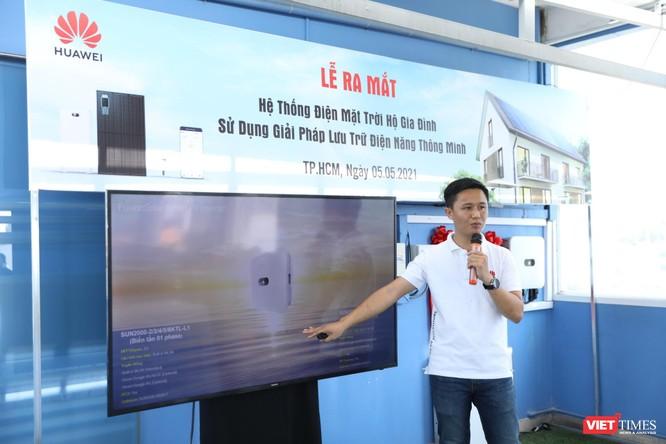 Ra mắt dự án điện mặt trời áp mái hộ gia đình sử dụng bộ lưu trữ thông minh ảnh 1