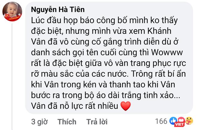 """Mang """"Kén Em"""" tới Miss Universe, Khánh Vân được cộng đồng mạng khen ngợi ảnh 1"""