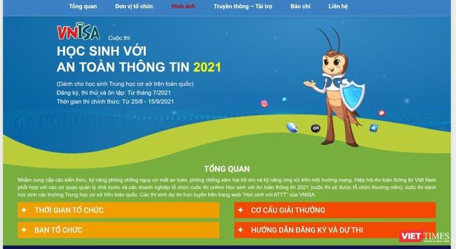 Lần đầu tiên học sinh Việt được tiếp cận với cuộc thi về an toàn thông tin ảnh 1