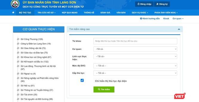 Lạng Sơn đưa 100% dịch vụ công đủ điều kiện lên online mức 4 chỉ trong một tháng ảnh 1