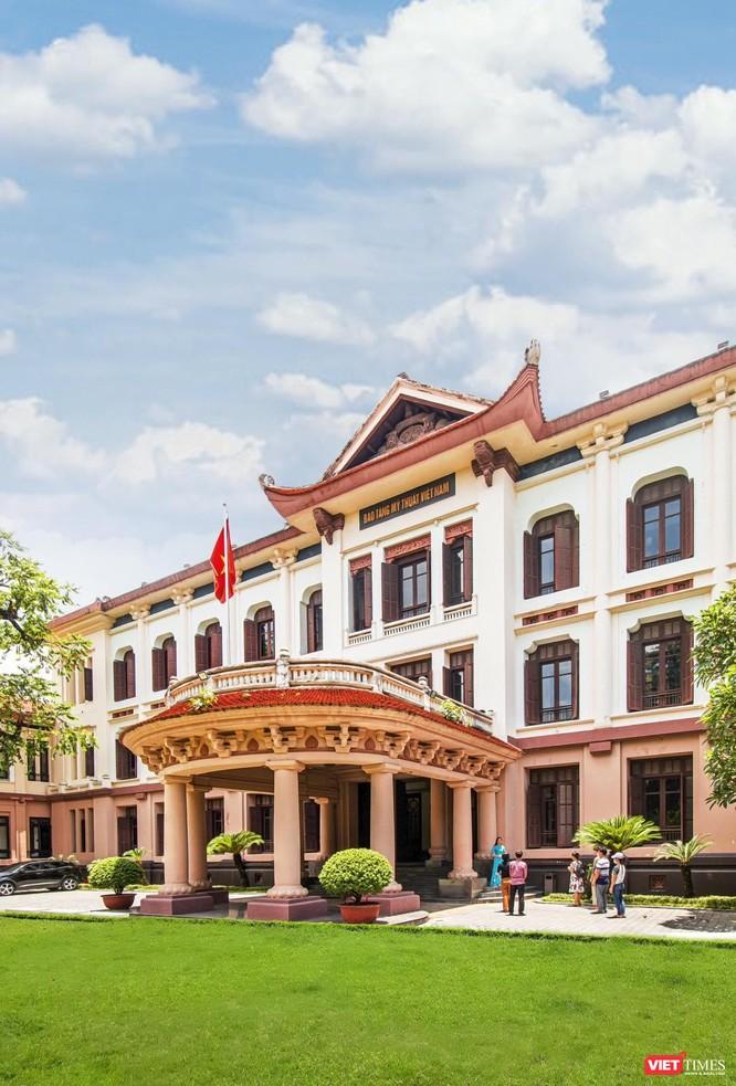 Bảo tàng Mỹ thuật Việt Nam: 55 năm bảo tồn và phát huy giá trị di sản mỹ thuật ảnh 2
