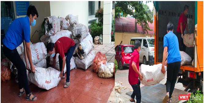 """Gần 13 tấn rau, củ, quả gửi tặng người dân đang """"gồng mình"""" chặn dịch ở TP.HCM và Bình Dương ảnh 2"""