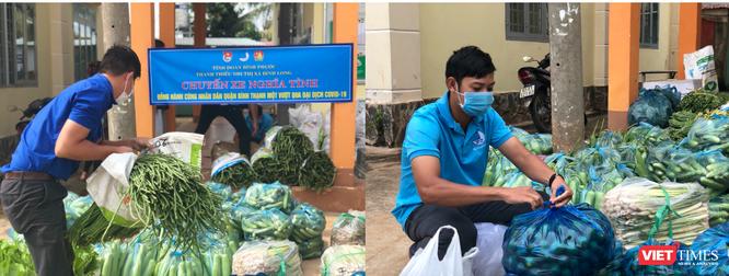 """Gần 13 tấn rau, củ, quả gửi tặng người dân đang """"gồng mình"""" chặn dịch ở TP.HCM và Bình Dương ảnh 5"""