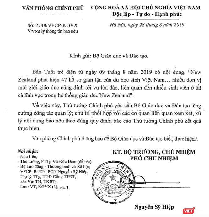 Phát hiện 47 hồ sơ gian lận của du học sinh Việt Nam tại New Zealand? ảnh 1