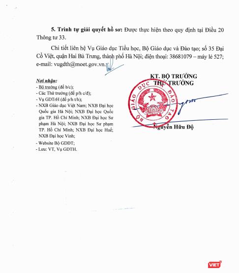 Bộ Giáo dục và Đào tạo bắt đầu nhận hồ sơ thẩm định sách giáo khoa lớp 1 ảnh 2