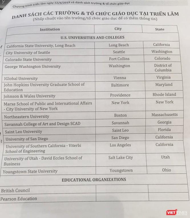 Cơ hội săn học bổng của 16 trường đại học đã được kiểm định tại Hoa Kỳ ảnh 1
