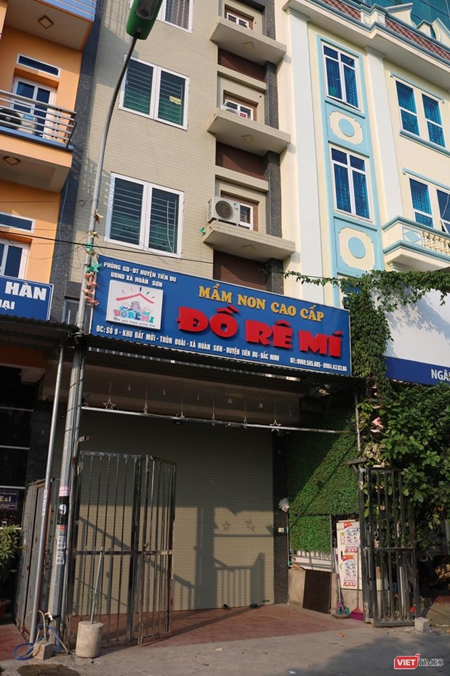 """Bắc Ninh: Tạm đình chỉ cơ sở mầm non """"cao cấp"""" Đồ Rê Mí ảnh 1"""