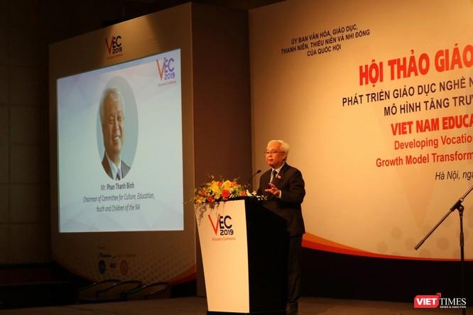 Hội thảo giáo dục Việt Nam 2019: Tăng cường gắn kết giáo dục nghề nghiệp với thị trường lao động và việc làm bền vững ảnh 1
