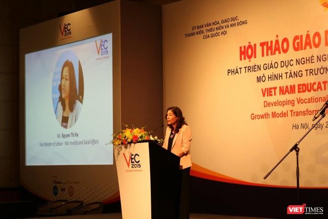 Hội thảo giáo dục Việt Nam 2019: Tăng cường gắn kết giáo dục nghề nghiệp với thị trường lao động và việc làm bền vững ảnh 2