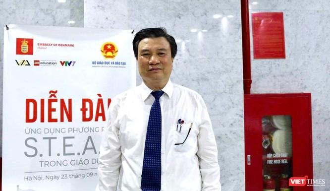 Thứ trưởng Bộ Giáo dục và Đào tạo Nguyễn Hữu Độ: STEAM giúp học sinh giải quyết các vấn đề trong thực tiễn cuộc sống ảnh 1