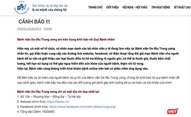 Mạo danh Bệnh viện Đại học Y Hà Nội để lừa người bệnh ảnh 2