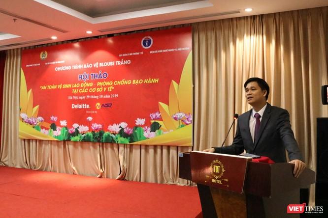 Bạo hành thầy thuốc ở Việt Nam rất cao, chiếm 25% tổng số bạo hành tại nơi làm việc. ảnh 4