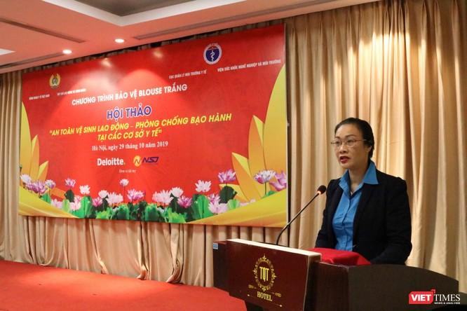 Bạo hành thầy thuốc ở Việt Nam rất cao, chiếm 25% tổng số bạo hành tại nơi làm việc. ảnh 1