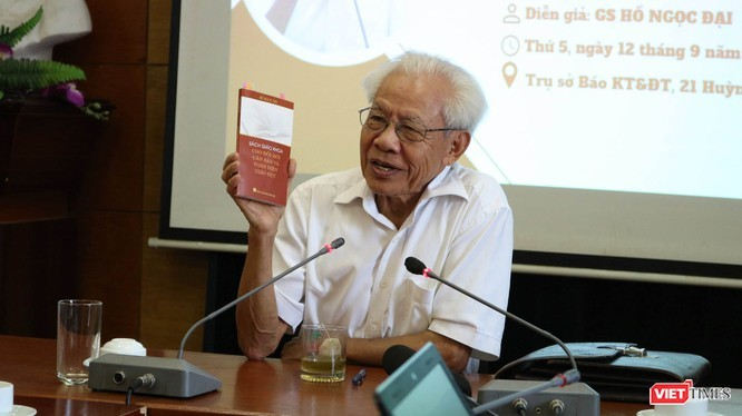 TS. Thái Văn Tài: GS. Hồ Ngọc Đại chưa có ý kiến chính thức về sách giáo khoa công nghệ giáo dục! ảnh 1