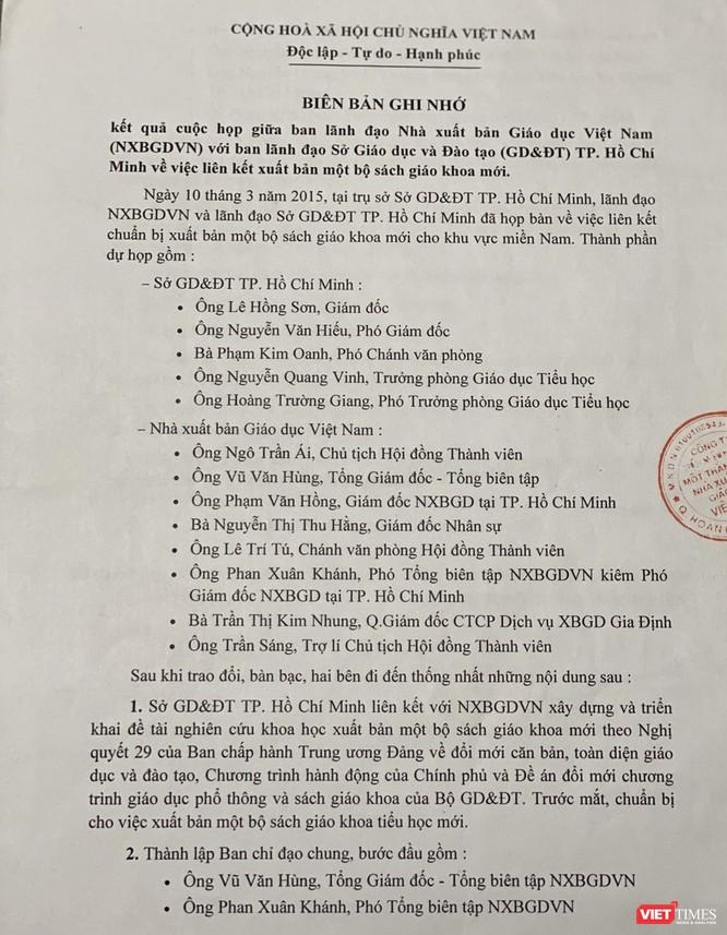 Nhà xuất bản Giáo dục Việt Nam chính thức lên tiếng! ảnh 1
