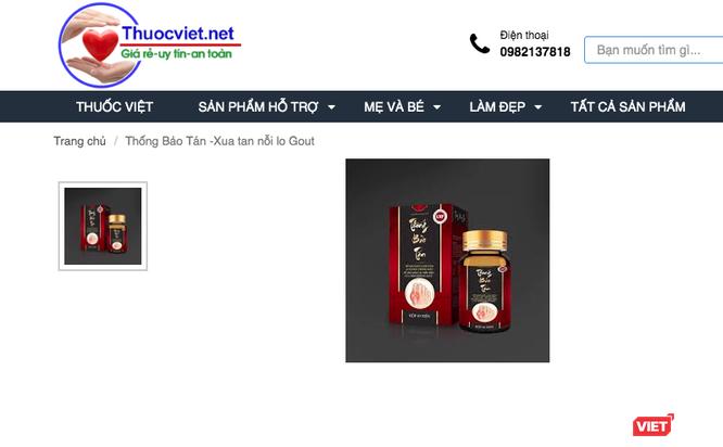 Cục An toàn thực phẩm cảnh báo sản phẩm Thống Bảo Tán có quảng cáo lừa dối người tiêu dùng ảnh 1