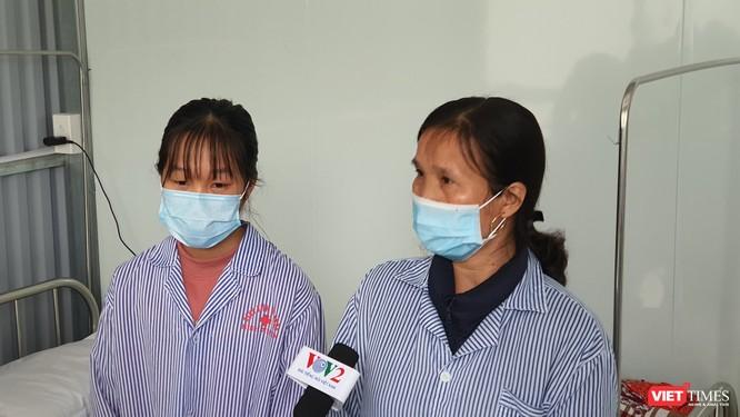 Mẹ và em gái nữ công nhân mắc COVID-19 trở về từ Vũ Hán đã khỏi bệnh ảnh 2