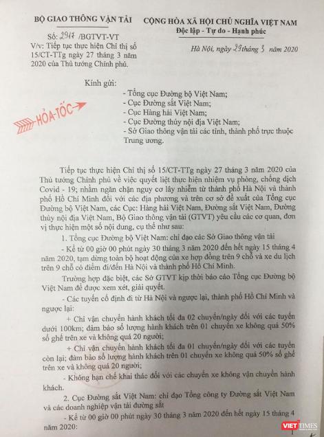 0h đêm nay, dừng mọi hoạt động xe hợp đồng trên 9 chỗ tại Hà Nội và TP. Hồ Chí Minh ảnh 1
