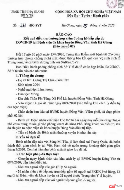 Thiếu nữ 16 tuổi mắc COVID-19 ở Hà Giang đã tiếp xúc trực tiếp với 20 nhân viên y tế ảnh 1