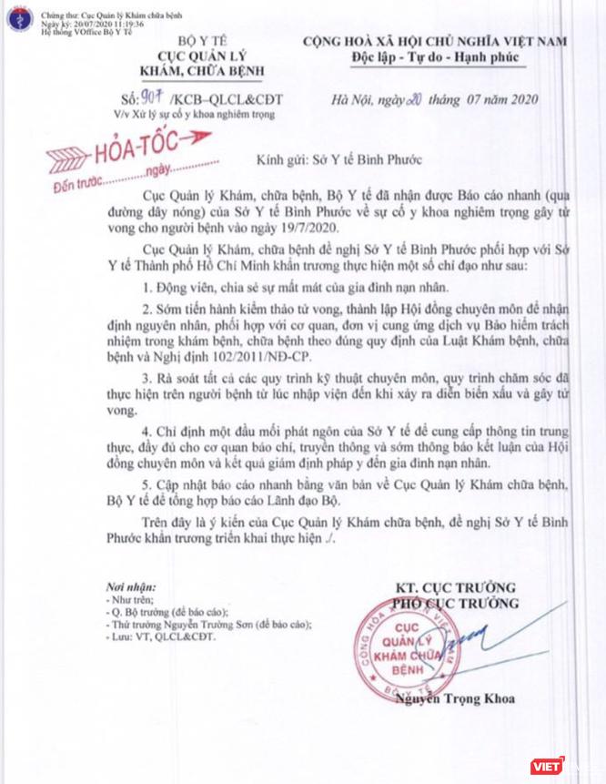 Khẩn cấp làm rõ nguyên nhân bé 7 tuổi tử vong bất thường gây xôn xao cộng đồng mạng ở Bình Phước ảnh 1