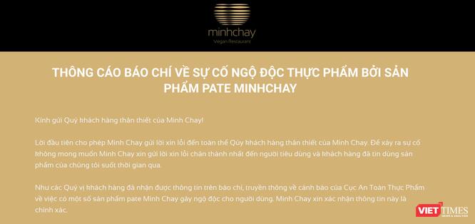 Vì sao 9 ngày sau khi công ty dừng sản xuất, Cục An toàn thực phẩm mới công bố pate Minh Chay có độc ảnh 2