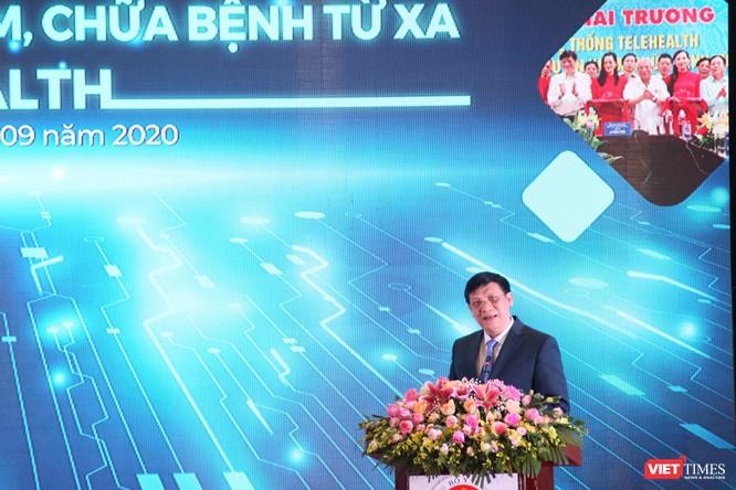 Thủ tướng Nguyễn Xuân Phúc dự lễ khánh thành 1.000 điểm cầu khám, chữa bệnh từ xa ảnh 2