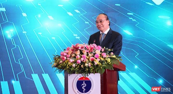 Thủ tướng Nguyễn Xuân Phúc dự lễ khánh thành 1.000 điểm cầu khám, chữa bệnh từ xa ảnh 1