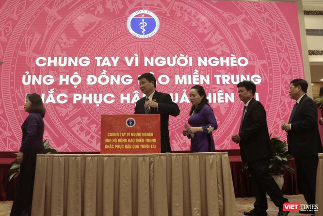 Quyền Bộ trưởng Bộ Y tế Nguyễn Thanh Long kêu gọi ngành Y tế chung tay vì miền Trung ruột thịt ảnh 2