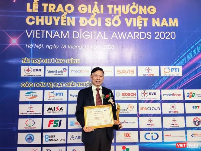 Hồ sơ sức khoẻ điện tử của Bộ Y tế được vinh danh tại giải thưởng Chuyển đổi số Việt Nam 2020 ảnh 1