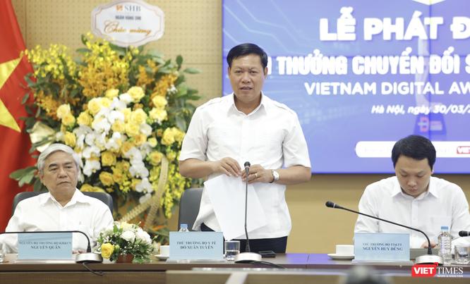 Thứ trưởng Bộ Y tế Đỗ Xuân Tuyên: Sẽ tích hợp kết quả đấu thầu trang thiết bị, thuốc, dịch vụ y tế ảnh 1